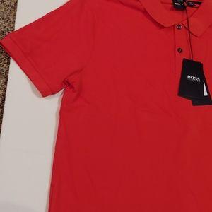 HUGO BOSS Regular-fit polo shirt in fine  186